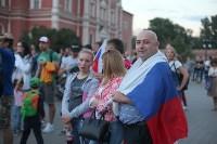 Матч Россия – Хорватия на большом экране в кремле, Фото: 16