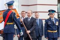 Путин в Суворовском училище, Фото: 1