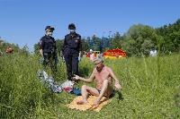 Полицейский рейд в Белоусовском парке, Фото: 9