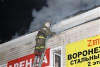 На ул. Оборонной в Туле сгорел магазин., Фото: 22