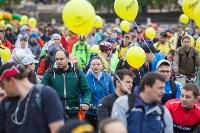 В Туле прошел большой велопарад, Фото: 155