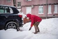 Снегопад в Туле. 19 января 2016 года, Фото: 14
