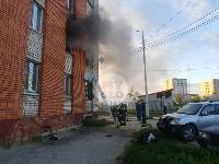 Пожар в общежитии на ул. Фучика, Фото: 20