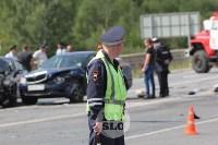 В ДТП под Тулой погибли три сотрудника УФСИН, Фото: 4