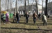 Субботник в Комсомольском парке с Владимиром Груздевым, 11.04.2014, Фото: 18