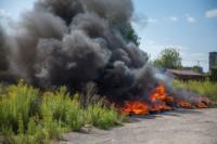 Пожар в гаражном кооперативе №17, Фото: 3