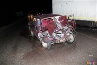 Под Тулой столкнулись грузовой Mercedes и «семерка», Фото: 3