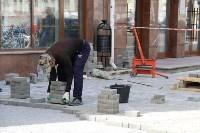 На ул. Советской меняют тротуарную плитку, Фото: 3