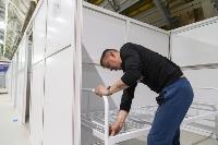 В Туле в манеже «Арсенала» завершается монтаж госпиталя для больных коронавирусом, Фото: 32