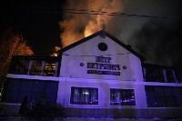 "В Туле загорелся ресторан ""Пётр Петрович"", Фото: 1"