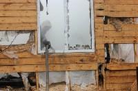 Пожар в цыганском поселении в Плеханово, Фото: 10