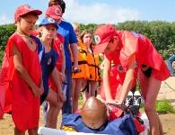 МЧС обучает детей спасать людей на воде, Фото: 30