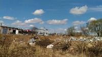 В Туле на берегу Тулицы обнаружен незаконный мусорный полигон, Фото: 10