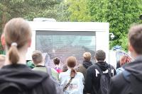 В Туле сотрудники МЧС эвакуировали госпитали госпиталь для больных коронавирусом, Фото: 10