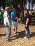 Евгений Авилов и блогеры в Баташевском парке, Фото: 1