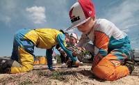Юные мотоциклисты соревновались в мотокроссе в Новомосковске, Фото: 76