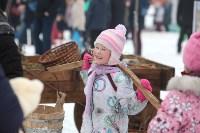 Как туляки провожали зиму на набережной Упы, Фото: 46