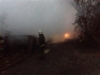 В Пролетарском районе сгорел дом, Фото: 11