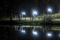 Платоновский парк вечером, Фото: 5