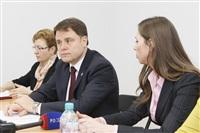Пресс-конференция, посвященная реконструкции Тульского кремля. 11 марта 2014, Фото: 6
