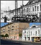 Проспект Ленина, 16. На старом фото - баррикады во время Тульской оборонительной операции в октябре-декабре 1941 года, Фото: 2