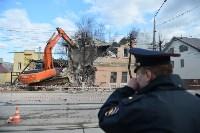 Снос аварийного дома на улице Октябрьской, Фото: 25