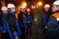 Врио губернатора Тульской области Алексей Дюмин посетил  ПАО «Тулачермет», Фото: 18