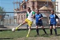 Тульские журналисты сыграли в футбол с зэками, Фото: 2