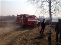В Ленинском районе из-за горящей травы сгорела дача, Фото: 7