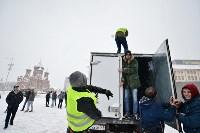 Автофлешмоб на площади Ленина в честь Дня памяти жертв ДТП, Фото: 16