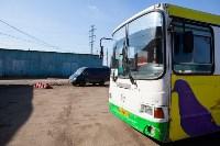 Как в Туле дезинфицируют маршрутки и автобусы, Фото: 36