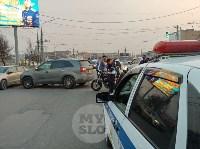 В Туле внедорожник подрезал мотоциклиста, Фото: 8