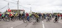 В Туле прошел большой велопарад, Фото: 105