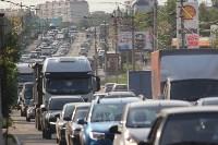 Пробка в Зареченском районе Тулы, Фото: 2