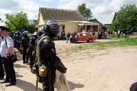 В Плеханово начали сносить дома в цыганском таборе, Фото: 142