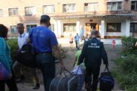 МЧС встречает беженцев в Домодедово. 9.07.2014, Фото: 1