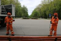 Тульские спасатели продезинфицировали Центральный парк, Фото: 1