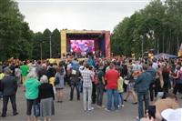 """Файер-шоу от болельщиков """"Арсенала"""". 16 мая 2014 года, Центральный парк, Фото: 52"""
