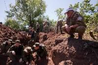 Останки бойцов в деревне Криволучье, Фото: 32