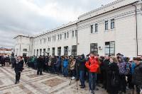 Открытие экспозиции в бронепоезде, 8.12.2015, Фото: 2