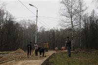 Ремонтные работы в ЦПКиО им. Белоусова, Фото: 28