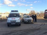На ул.Рязянской столкнулись две иномарки, Фото: 4