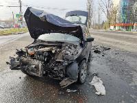 На Щекинском шоссе в Туле произошло тройное ДТП, Фото: 2