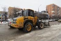 Сотрудники администрации Тулы проинспектировали уборку снега в городе, Фото: 13