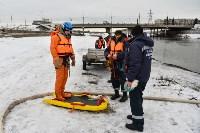 Учения спасателей на набережной Дрейера. 3 марта 2016 года, Фото: 13