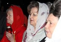 Пасхальная служба в Успенском соборе. 20.04.2014, Фото: 35