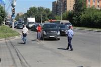 ДТП на пересечении Маргелова и проспекта Ленина, Фото: 9