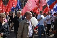 Тульская Федерация профсоюзов провела митинг и первомайское шествие. 1.05.2014, Фото: 16