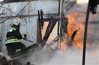 Пожар в жилом бараке, Щекино. 23 января 2014, Фото: 17