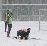 «Арсенал» готовится на снежном поле к игре против «Тосно», Фото: 30